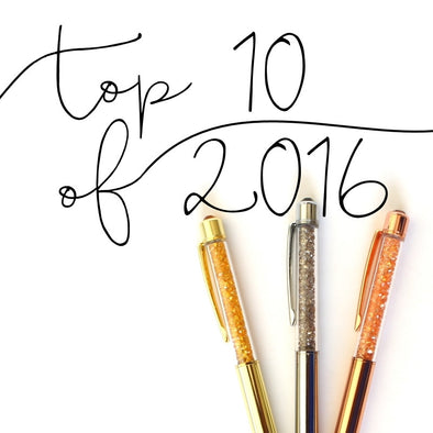PenGems Top 10 Pens of 2016