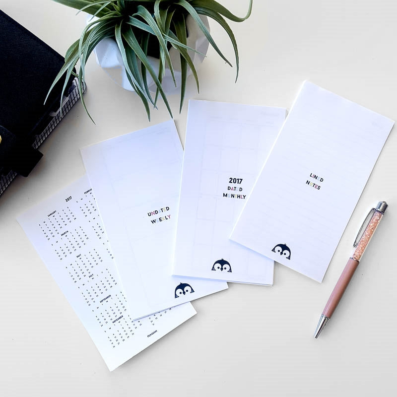 image about Free Personal Planner Printables referred to as PenGems Blog site Tagged \