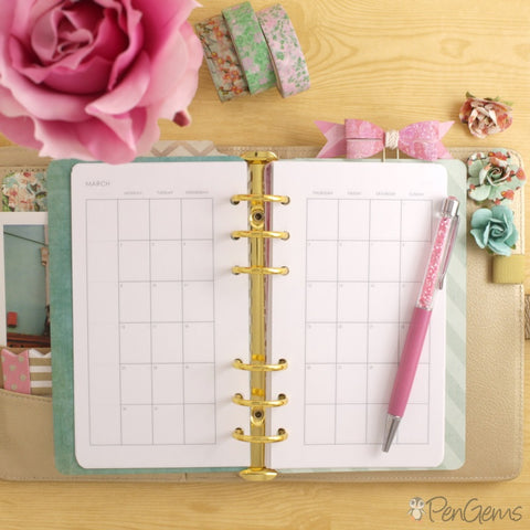 Free Planner Printables - Simple Theme - Personal Size