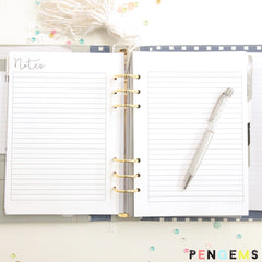 picture about A5 Planner Printable identify 2016 Absolutely free A5 Printable Planner Inserts PenGems