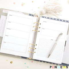 graphic about A5 Planner Printables known as 2016 Totally free A5 Printable Planner Inserts PenGems