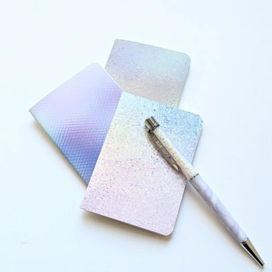 Accessories - Iridescent | A7 Mini Stone Paper Notebook Trio