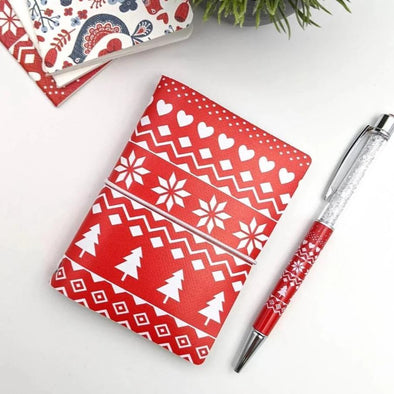 Accessories - Mini Notebook Cover | Let It Snow