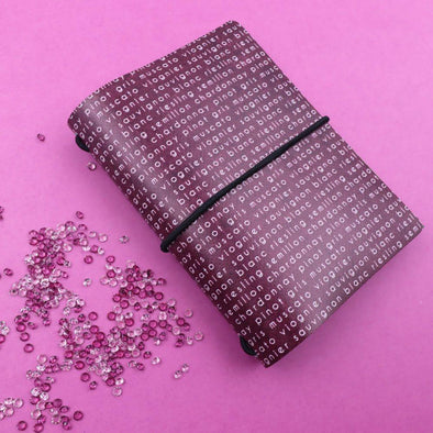 Accessories - Mini Notebook Cover | Wine Country