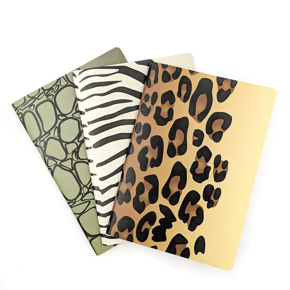 A5 Stone Paper Notebook Trio | Safari