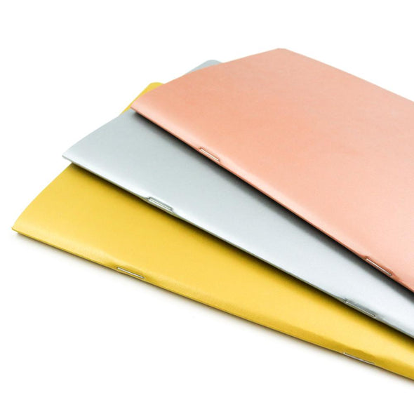 Accessories - Satin Metals A5 | Stone Paper Notebook Trio