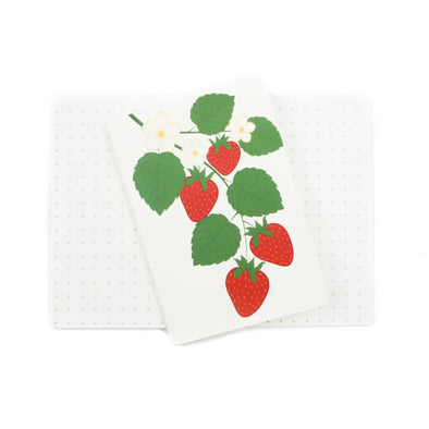 Accessories - Strawberry Patch Mini Stone Paper Notebook