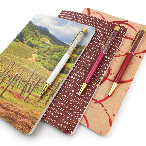 Accessories - Wine Country Prints A5 | Stone Paper Notebook Trio