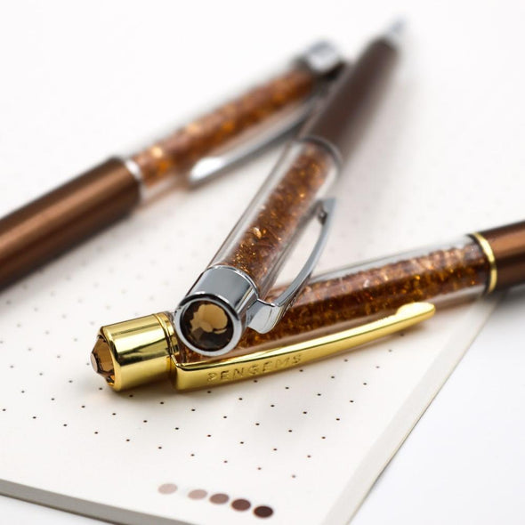 Pen - Chocolate | Gold