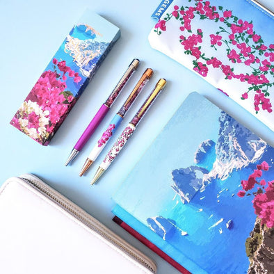 Pen - Isle Of Capri Collection Bundle With White Little Scuba