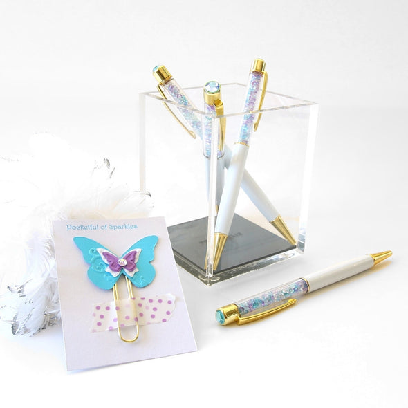Pen - Pocketful Of Sparkles Designer Crystal Pen