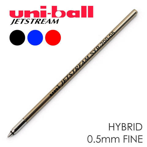 Uni-ball Jetstream Refill Ink Cartridge 0.5mm Fine - PenGems - 1