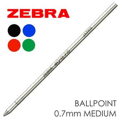 Refill - Zebra® 4C Refill Ink Cartridge 0.7mm Medium