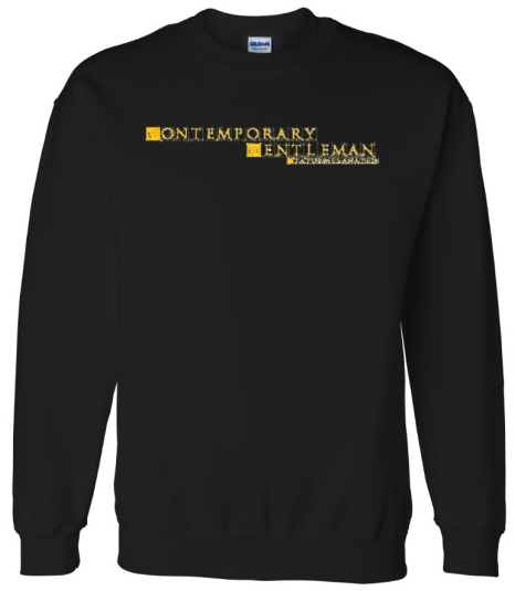 Contemporary Gentleman Men's crewneck
