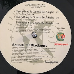 Sounds Of Blackness<br>★<br>Everything Is Gonna Be Alright