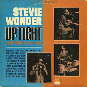 Stevie Wonder<br>★<br>Up-Tight