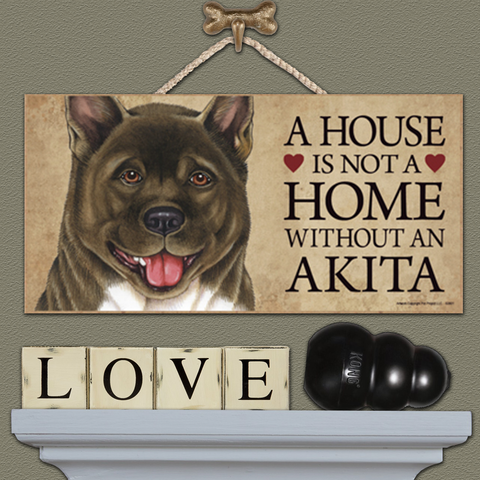 House is Not a Home - Akita