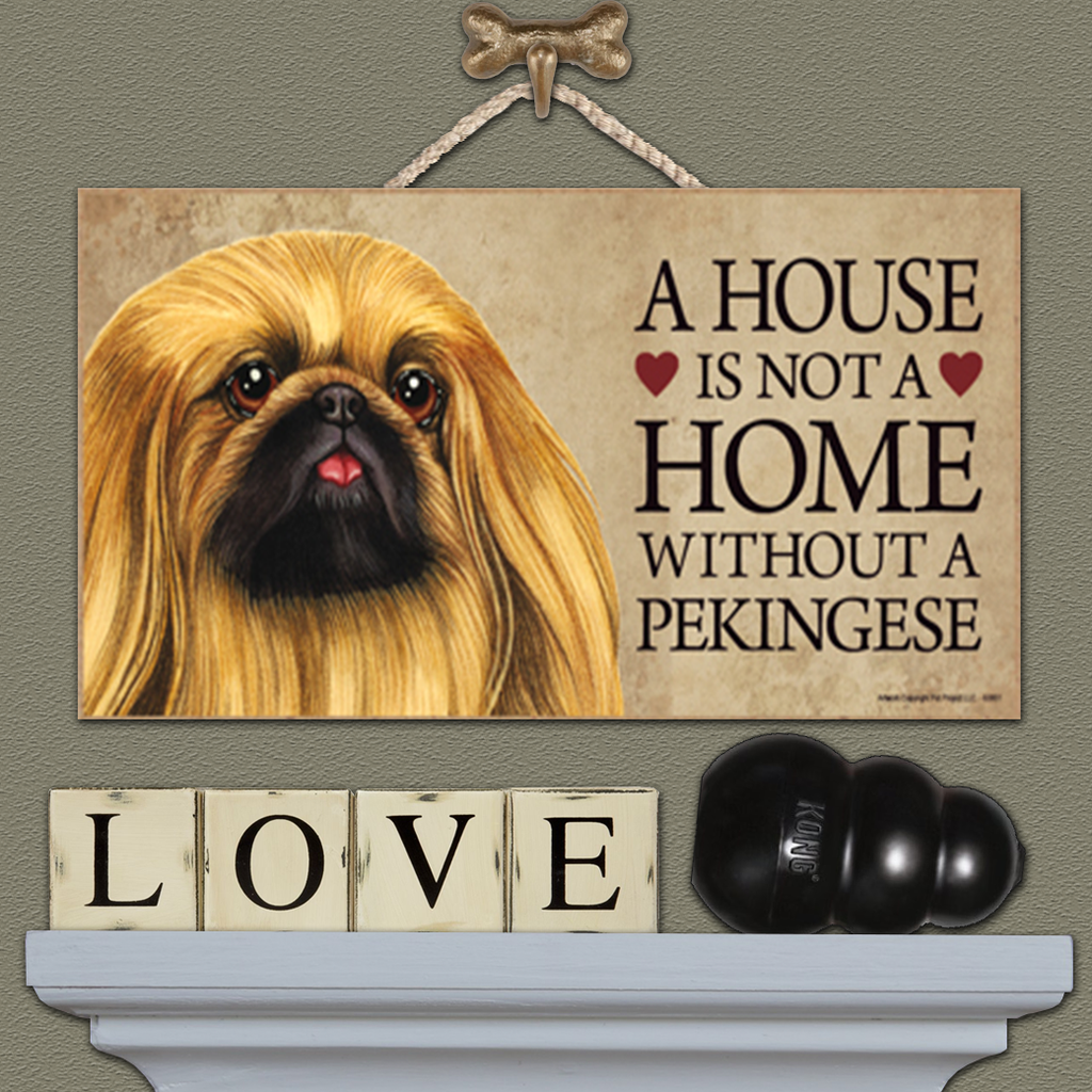 House is Not a Home - Pekingese