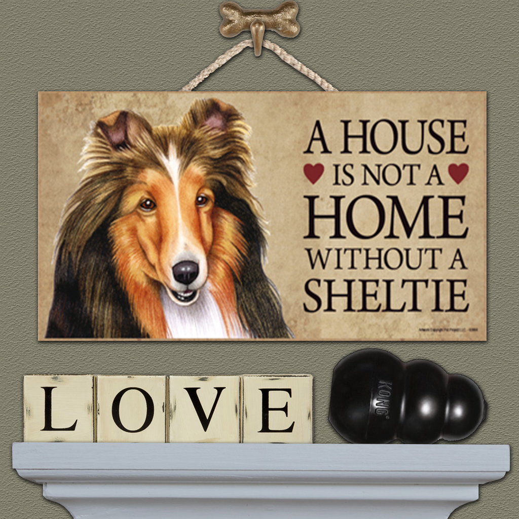 House is Not a Home - Sheltie