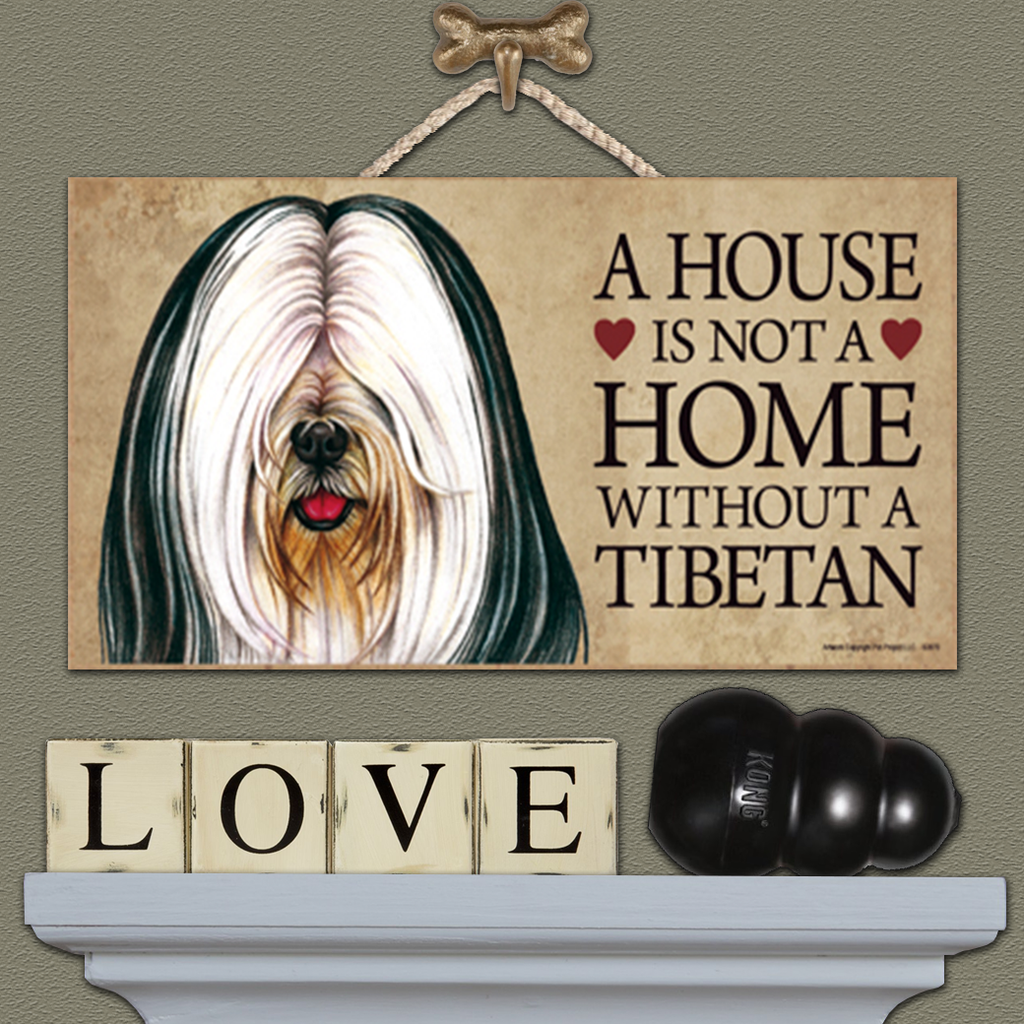 House is Not a Home - Tibetan - Black