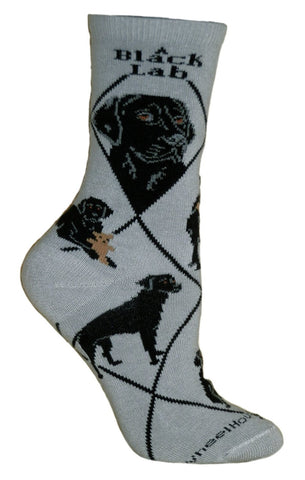** Quality Labrador Blended Crew Socks