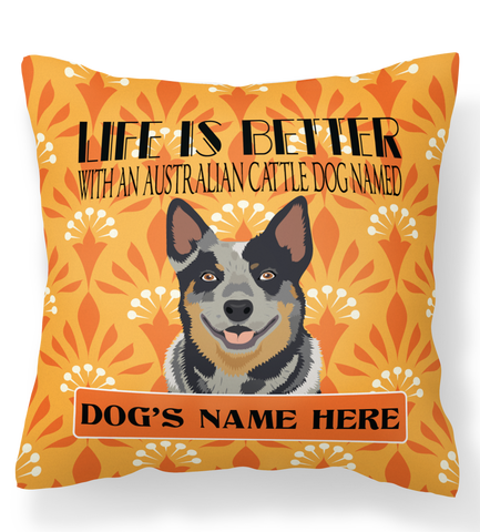 * PERSONALIZED  Australian Cattle Dog Pillow Case