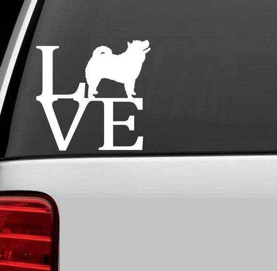 Chow Chow Love Decal
