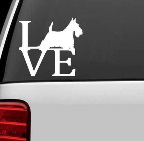 A1 Scotty Love Decal