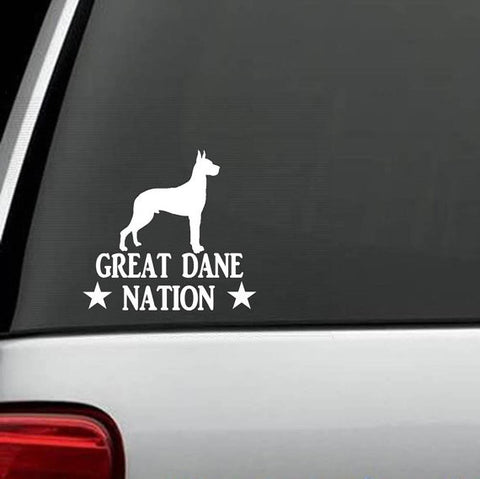 Great Dane Nation Decal