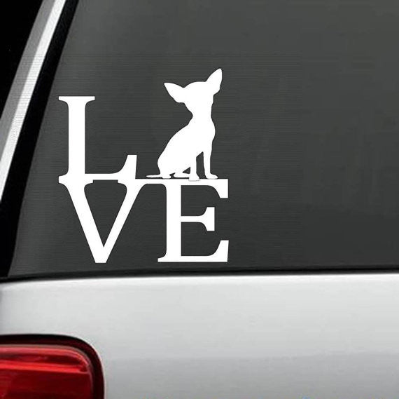 Chihuahua Love Decal