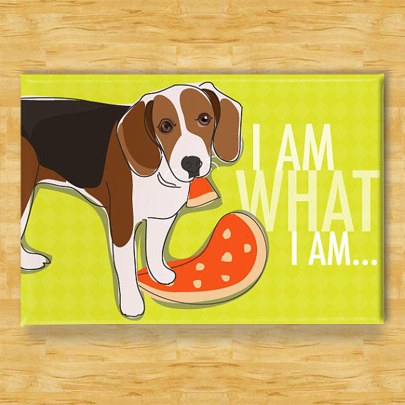 Beagle Magnet - I Am What I Am