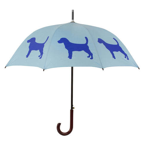** Beagle Umbrella Blue & Blue