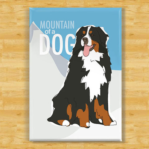 ** Bernese Mountain Dog Dog Magnet