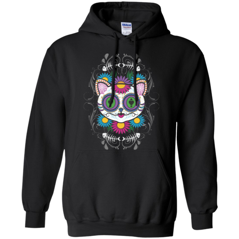 * Sugar Skull Cat Sweatshirts
