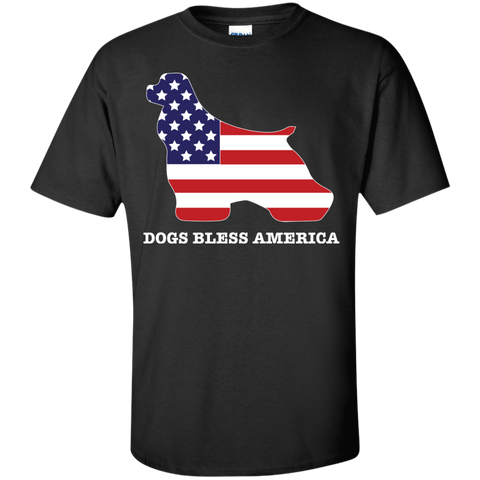 * Cocker Spaniels Bless America
