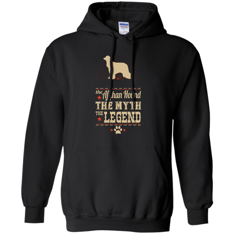 *    The Legend Afghan Hound - Hoodies