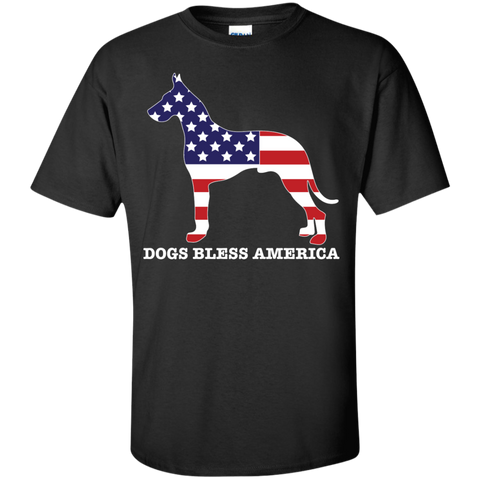 * Great Danes Bless America - Cropped