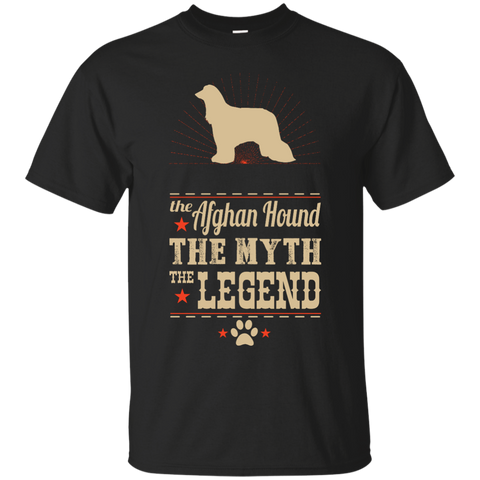 *    The Legend Afghan Hound - Unisex