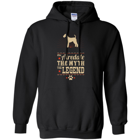 * The Legend Airedale Pullover Hoodie 8 oz