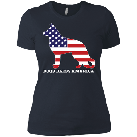 * German Shepherd Bless America