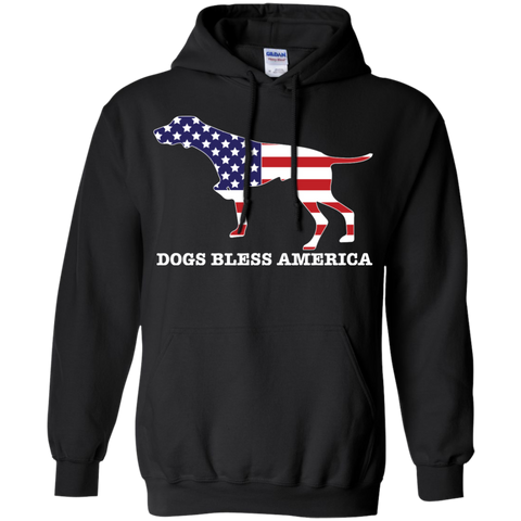 * German Shorthaired Pointer Bless America