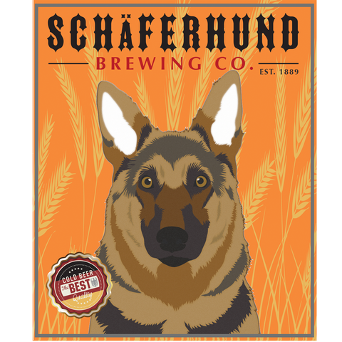 ** German Shepherd Beer Stein