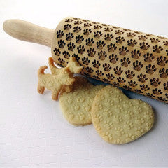 Paw Print Rolling Pins