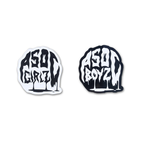 ASOC Drip Boyz & Girlz Die-Cut Sticker Pack