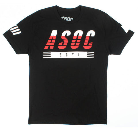 ASOC Boyz Racing Tee in Black