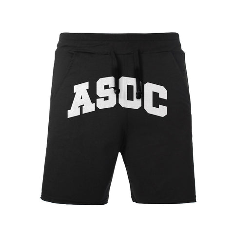 ASOC Logo Sweat Shorts in Black