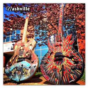 Nashville Photo Magnets | Guitars On Music Row