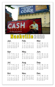 Nashville Calendar Magnets | Johnny Cash