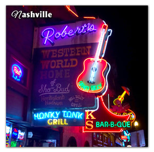 Nashville Photo Magnet | Roberts Western World