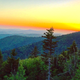 Nashville Photo Magnets | Sunset In the Great Smoky Mountains